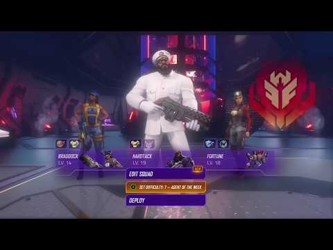 Agents of Mayhem gameplay (Hidden lair on global conflicts)