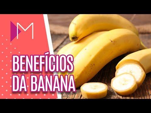 Benefícios da banana - Mulheres (13/08/18)