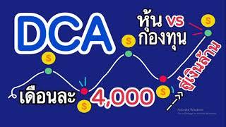 DCA หุ้น VS กองทุน-เดือนละ 4,000 สู่เงินล้าน โชว์พอร์ต DCA หุ้น CPF