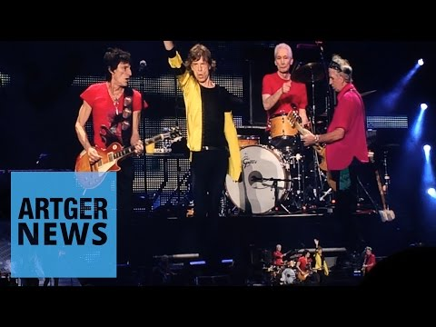 The Rolling Stones Played At The Mercedes Benz Arena, Shanghai