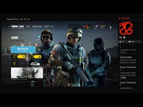 Noob plays rainbow 6 siege buzzed #4 Road to #300