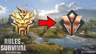 WHEN A GRANDMASTER GOES BACK TO BRONZE - Rules of Survival (Tagalog)