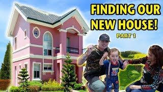 SHOPPING FOR A NEW HOUSE! MOVING TO A NEW HOUSE (Philippines)