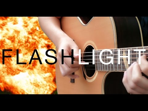Flashlight - Jessie J [Fingerstyle Guitar Cover by Eddie van der Meer]