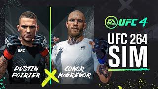UFC 264 Simulation: Conor McGregor Vs Dustin Poirier - UFC 4