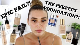 Mixing ALL My Foundations Together | Didn