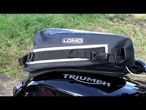 SOFT MOTORCYCLE LUGGAGE, LOMOs new 15L 100% waterproof Tank bag/dry bag!
