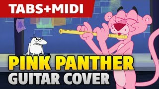 Henry Mancini – The Pink Panther Theme. Guitar Cover. +Tabs.