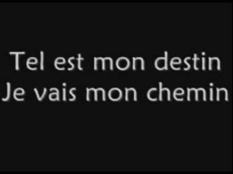 Destin ! Céline Dion  KARAOKE INSTRUMENTALE