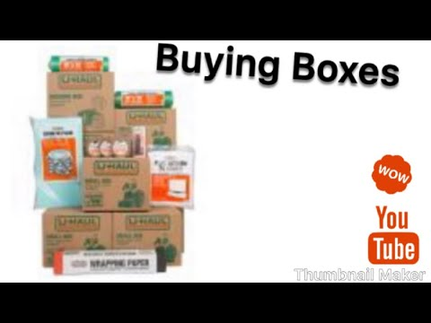 Buying Boxes At Home Depot