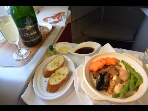 Dragonair First Class A330 KA901 Beijing to Hong Kong
