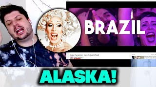 Alaska Thunderfuck - Come To Brazil [Official] | REACTION!