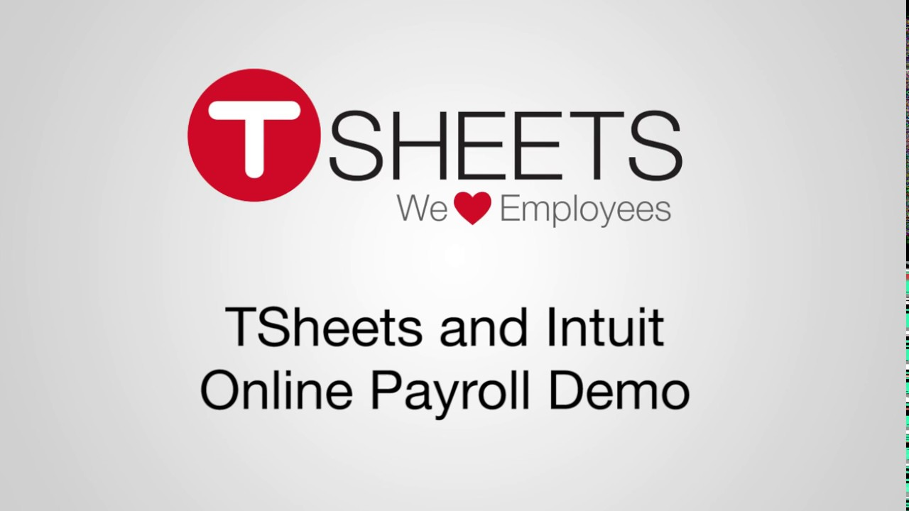 TSheets + Intuit Online Payroll