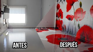 Piso 3D y Mural 3D - Amapolas Wonderful 3D