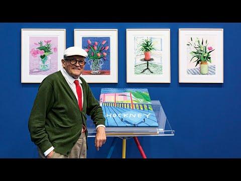David Hockney Wows at Frankfurt