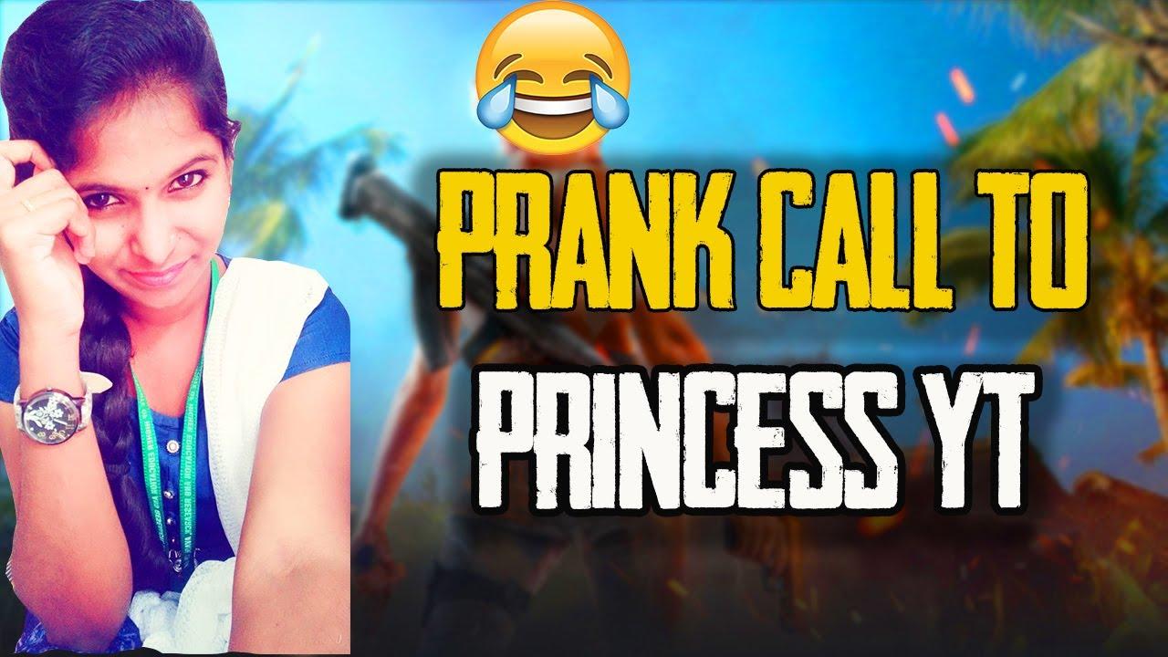 PRANK CALL TO PRINCESS YT 😂😂😂😁😁🔥🔥