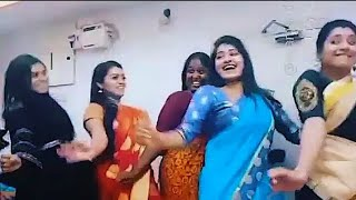Saravanan Meenatchi Last Day Funny Dance and  Dubsmash Shooting Spot Video Lovely Moments || VijayTv