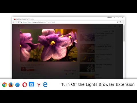 Turn Off the Lights for YouTube™ - Chrome Web Store