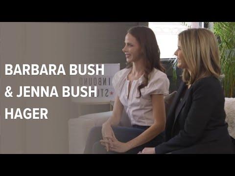 Barbara Bush & Jenna Bush Hager   The INBOUND Studio