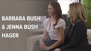 Barbara Bush & Jenna Bush Hager | The INBOUND Studio