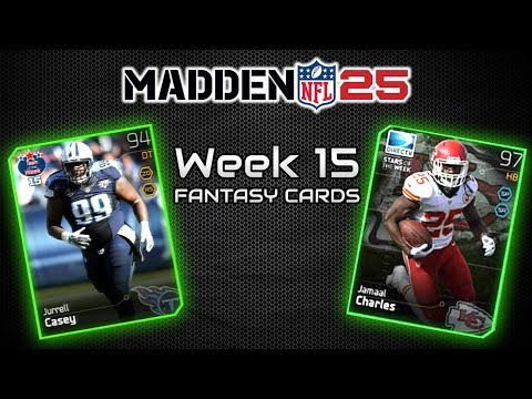 """""""Madden 25 Ultimate Team"""" YOUR THOUGHTS ON ALL PRO BUNDLES? """"MUT 25 Jamaal Charles Reward Item"""""""