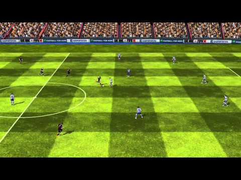 FIFA 14 Android - FC Barcelona VS West Brom