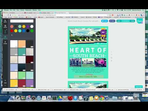 canva com tutorial how to make real estate flyers in less than 5