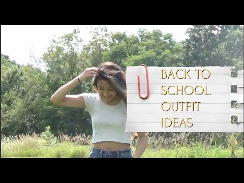 [VIDEO] - BACK TO SCHOOL OUTFIT IDEAS!! 3
