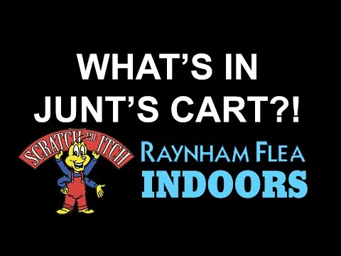 What's in Junt's Cart? - Raynham Flea Market (Indoor)
