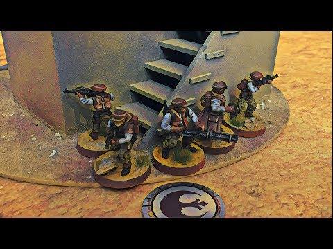 Star Wars Legion Battle Report Ep.02 | WAVE 0 | STAY ON TARGET!