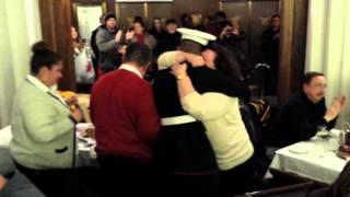 Marine Surprises Mom for Christmas