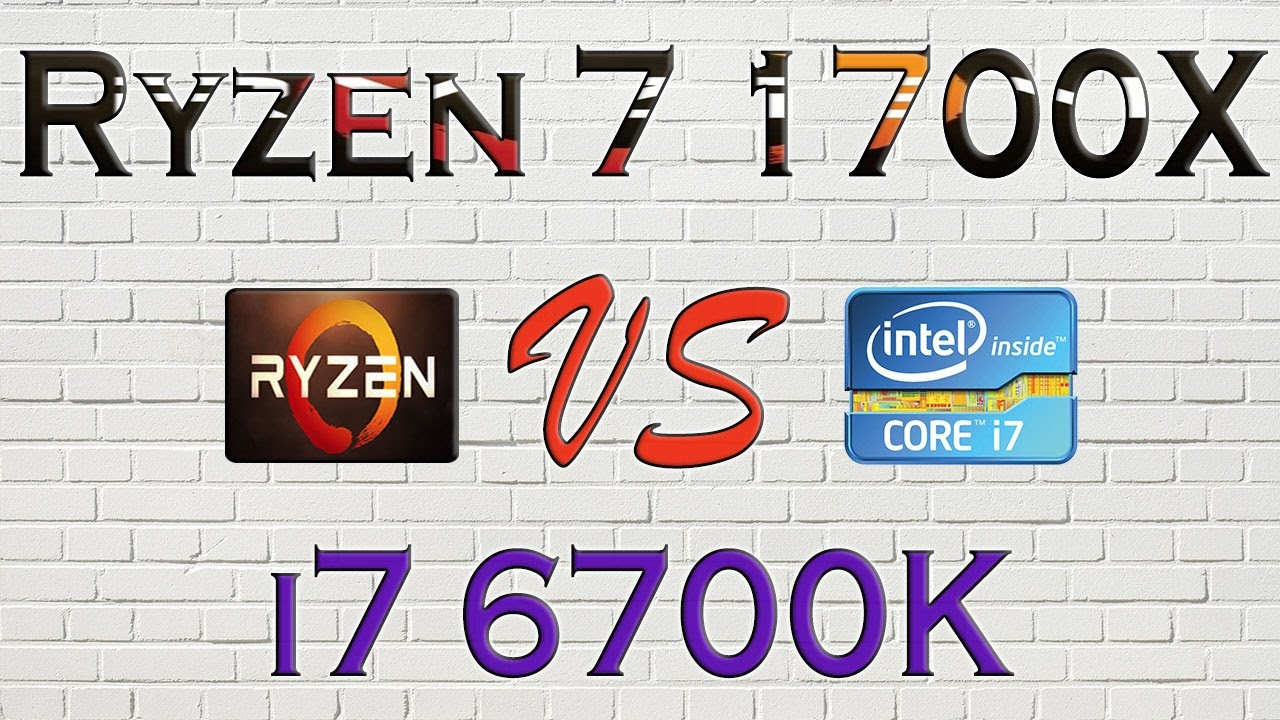 Ryzen 7 1700x Vs I7 6700k Benchmarks Gaming Tests Review And