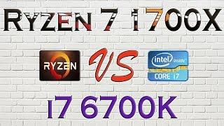 Video RYZEN 7 1700X vs i7 6700K - BENCHMARKS / GAMING TESTS REVIEW AND COMPARISON / Ryzen vs Skylake download MP3, 3GP, MP4, WEBM, AVI, FLV April 2018