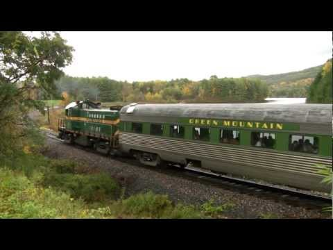 Vermont Rail System: White River Flyer Fall 2012