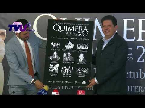 Metepec presentó el festival internacional de arte y cultural Quimera 2017