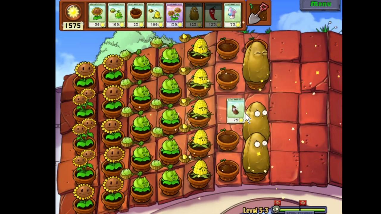 Plant vs Zombies Level 5-3