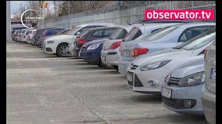 Probleme la Aeroportul din Cluj-Napoca. Oamenii plătesc tichete de parcare, dar nu sunt locuri