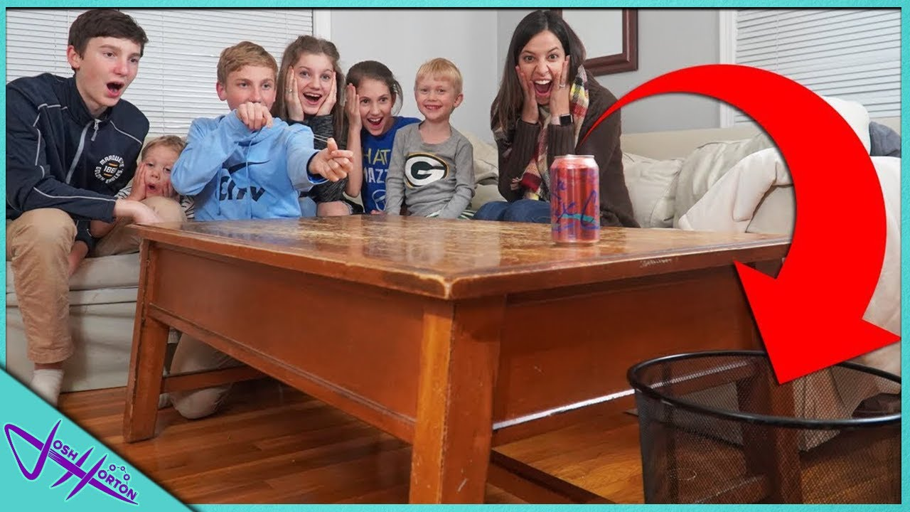 REAL LIFE TRICK SHOT BATTLE w/ THAT'S AMAZING!