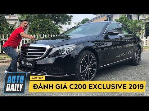 Đánh giá nhanh Mercedes C200 Exclusive 2019 giá 1,7 tỷ đồng  AUTODAILY.VN 