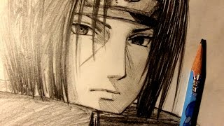ASMR | Pencil Drawing 62 | Itachi Uchiha (Request)