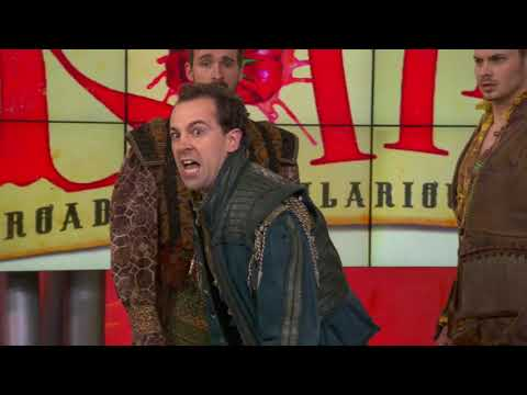 Cast of Something Rotten! performs 'God, I Hate Shakespeare'