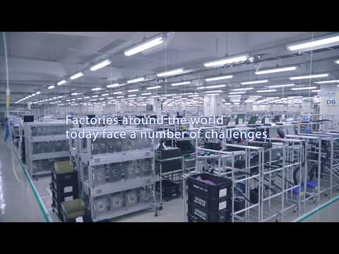 Omron's LD mobile robots automate material transport and increase efficiency