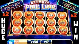 ★SUPER BIG WIN★ ULTIMATE FIRE LINK Slot Machine $10 Max Bet Bonus HUGE WIN |Live Slot Play & BIG WIN