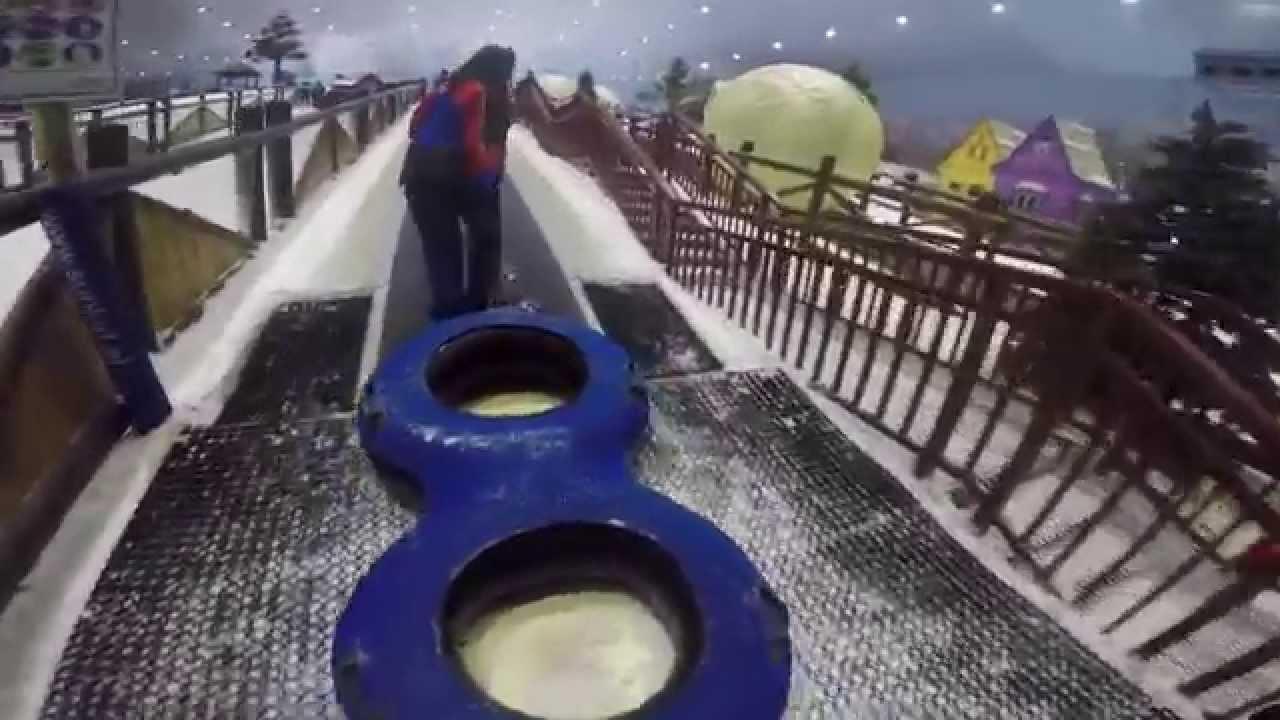 SNOW PARK AT SKI DUBAI (MALL OF EMIRATES) - YouTube