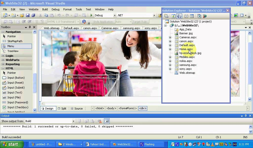 Download ASP.NET Tutorial-Navigation control