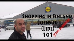 Shopping in Finland, Joensuu (Lidl) التسوق في فنلندا