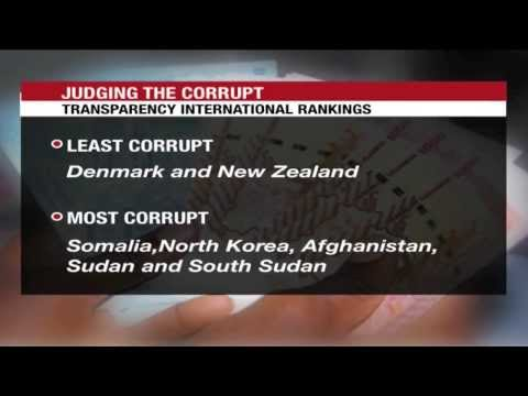 Corruption Report: TI ranks Uganda 140th corrupt country out of 177