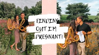 FINDING OUT I'M PREGNANT AND TELLING MY HUSBAND