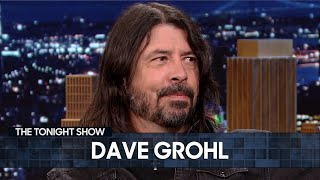 Dave Grohl Once Caught His Mom Drinking with Green Day   The Tonight Show Starring Jimmy Fallon
