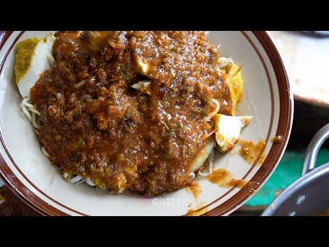 toge-goreng-mie-kuning-dan-tahu,-disiram-bumbu-tauco---indonesian-street-food-#kulinerbogor